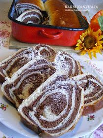 Barbi konyhája: Csíkos kalács Naan, Nutella, Pancakes, French Toast, Breakfast, Food, Google, Morning Coffee, Essen