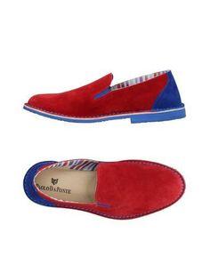PAOLO DA PONTE Men's Loafer Red 7 US