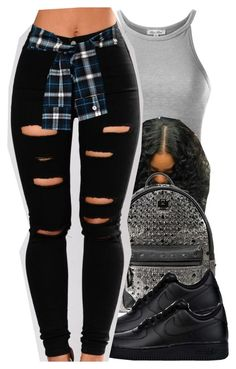 """""""#173"""" by itzchrissy ❤ liked on Polyvore featuring MCM and NIKE"""