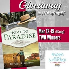 Author Interview (and a Giveaway!): Barbara Cameron - Reading Is My SuperPower