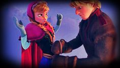 Anna and Kristoff ~ Frozen