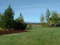 landscape we maintained in the Tumalo area