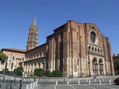 Basílica de San Sernín. Autor: desconocido Estilo: Románico Data: Finales del siglo XI
