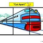 Train themed 6 piece puzzles that can be cut apart for fine motor practice and pasted back together on a blank template. Pieces can also be laminat...