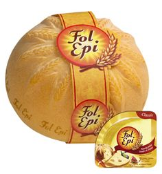 "Fol Epi Cheese- wanted to try some German cheese and ended up getting French cheese.  It was good though, and I agree it is more mild than Swiss- ""the perfect choice for those with sensitive palates."""