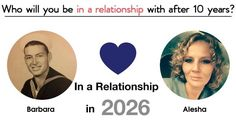In ten years time, you will be in a relationship with your best friend for life. Click to find out who it will be.