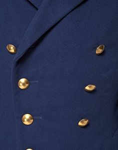 Reclaimed Vintage French Pea Coat – tres Javert