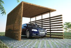 Best Wooden Carport Design Ideas in California