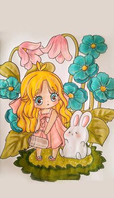 Enjoy, work hard to water your plants regularly. And one day you will have a whole flower garden. Princess Zelda, Princess Peach, Coloring Books, Coloring Pages, Kitchen Canister Sets, Leather Journal, Fictional Characters, Art, Vintage Coloring Books