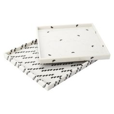 marble patterned trays // target // $25