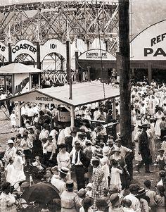 circa 1915 FUN Times...Luna Park... Charleston, SC