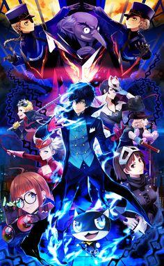 Credit given to: Persona 5 Wallpaper he app Persona 5 Phantom thieves 11 Persona 5 Anime, Persona 5 Joker, Persona 4, Geeks, Kenshin Le Vagabond, Manhwa, Shin Megami Tensei Persona, Akira Kurusu, Doja Cat