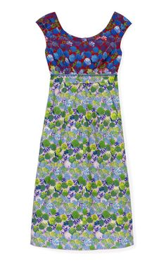 Floral Cotton Cap Sleeve Dress by Marc Jacobs now available on Moda Operandi