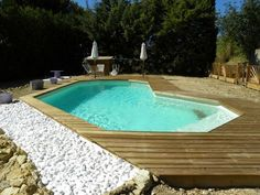 Les piscines en bois Bluewood© Bluewood