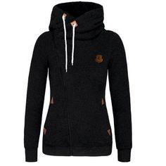 chaquetas mujer 2016 Hoodie women Sweatshirt Sweat Turn-down Collar Cardigans Tracksuit Female bomber jacket women basic coats