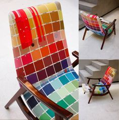 paint swatch chair