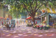 Norwich Market by John Patchett