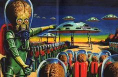 Mars Attacks - The invasion begins