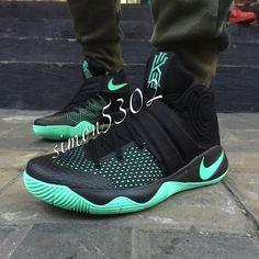 Nike Kyrie 2 Black/Green Glow Release Date | Nikeblog.com