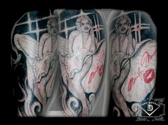 1000 images about tattoo portraits on pinterest tattoos for Anthony french tattoo