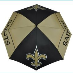 New Orleans Saints Windsheer II Umbrella by McArthur. $32.74. Innovative WindSheer Hybrid Umbrella. -1. Designed with four single canopy panels and four double canopy panels. Patented Wind-Release System with the oversized logo enhancements. NFL New Orleans Saints 62-inch WindSheer Hybrid Umbrella. Save 18% Off!