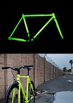 The Kilo - glow in the dark bike by Pure Fix