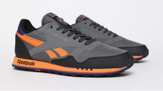 Reebok CL Trail - Gris / Orange