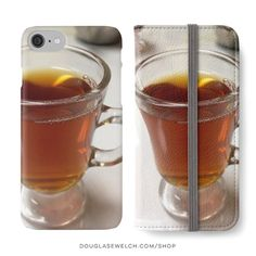 """""""A Cup of Tea"""" iPhone Cases Wallets and Much More!  Available Exclusively from http://ift.tt/2i1uX76  #tea #drink #food #comfort #iphone #products #cards #clothing #arts #crafts #technology #iphone #cases #bags #totes #photography #prints #home #housewares #journals #pillows"""