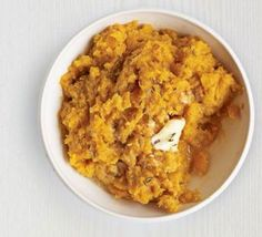 Carrot & sweet potato mash