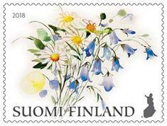 Finland, Stamps, Scrapbook, Paper, Illustration, Art, Seals, Art Background, Kunst