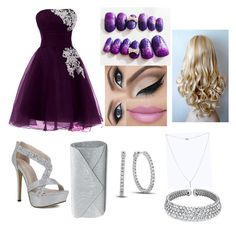 Perfect outfit for the Prom Bling Jewelry, Collages, Mascara, Prom, Shoe Bag, Polyvore, Stuff To Buy, Outfits, Accessories