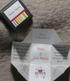 Invitaciones y Tarjetas de casamiento: Llegaron las nuevas invitaciones Cajitas!!!!