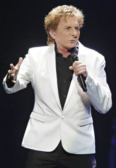 Barry Manilow during the Manilow On Broadway Tour 2013.