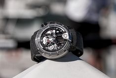 HYT H1 Alinghi Watch Hands-On At The Extreme Sailing Series