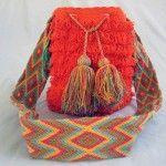 Mochila Wayuu-Plucked- Orange #handbags #bags #Mochila #Wayuu #fashion  #crochet #style #Colombia #LaGuajira Crochet Style, Urban Art, Crochet Necklace, Handbags, Orange, Jewelry, Fashion, Colombia, City Art