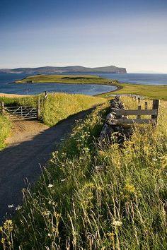 Scotland - Waternish Point (Isle of Skye) by Mathieu Noel
