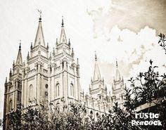 Salt Lake City, Utah Temple of The Church of Jesus Christ of Latter-day Saints