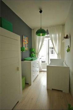 Groene Babykamers op Pinterest  Babykamer Groen, Babykamer Gordijnen ...