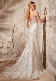 Mori Lee by Madeline Gardner 2708 Wedding Dress - The Knot