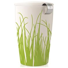 Tea FortàKATI Single Cup Loose Leaf Tea Brewing System, Insulated Ceramic Cup with Tea Infuser and Lid, Spring Grass - NEW Infuser Design by Tea Forte *** Want to know more, click on the image.