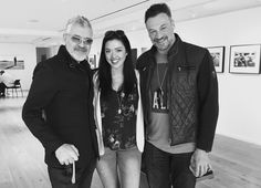 Dennys Ilic - Pre BSG wine night with @aliyahobrien and @alekspaun at @LeicaGalleryLA! Also ran into awesome @BillyZane here!