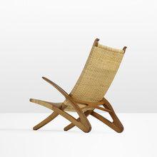 23: Hans J. Wegner / Rare Dolphin lounge chair