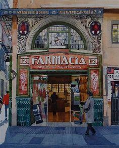 """""""Farmacia - Barcelona"""" by David Morris #farmacia #pharmacy"""