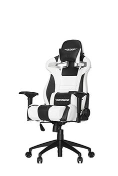 Vertagear Racing Series S Line SL4000 Ergonomic Racing Style Gaming Office  Chair   White/Black