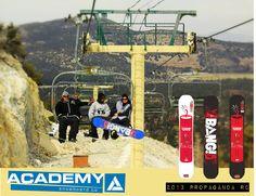 "2012/13 Propaganda ""Bang"" snowboard models. They're just so buttery..."