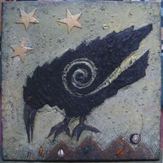 Crows and ravens play a role in legends and myths worldwide. Their wisdom, intelligence and flying powers were. Crow Art, Raven Art, Bird Art, Quoth The Raven, Legends And Myths, Jackdaw, Raven Tattoo, Crows Ravens, Animal Totems