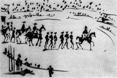 La Tauromaquia (3) 1957 Pablo Picasso