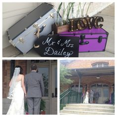 We love these cute little wedding details from a wedding held at Bristol Train Station. Click the link and see all of the exciting things they have to offer you for your big day.   Image Credit: Bristol Train Station Facebook