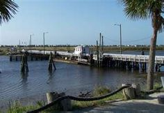 Old Sunset Beach Swing Bridge, Sunset Beach Intracoastal Waterway, North Carolina