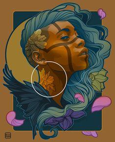 Willy Gómez on Behance – Graffiti World Black Art, Arte Black, Black Women Art, Graffiti Art, Art Inspo, Art Sketches, Art Drawings, Pop Art, Art Afro